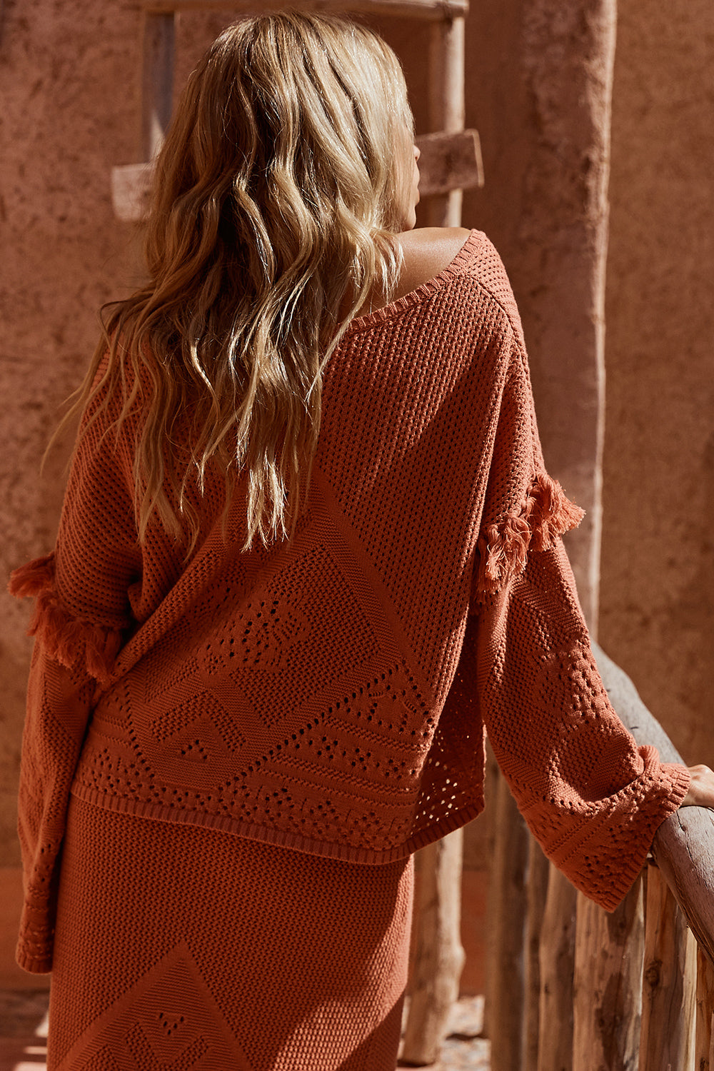 Madox Jumper in Terracotta
