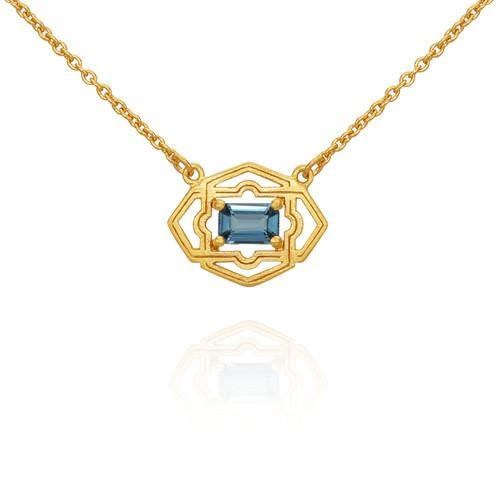 Temple of the Sun ~ Marina Necklace Gold