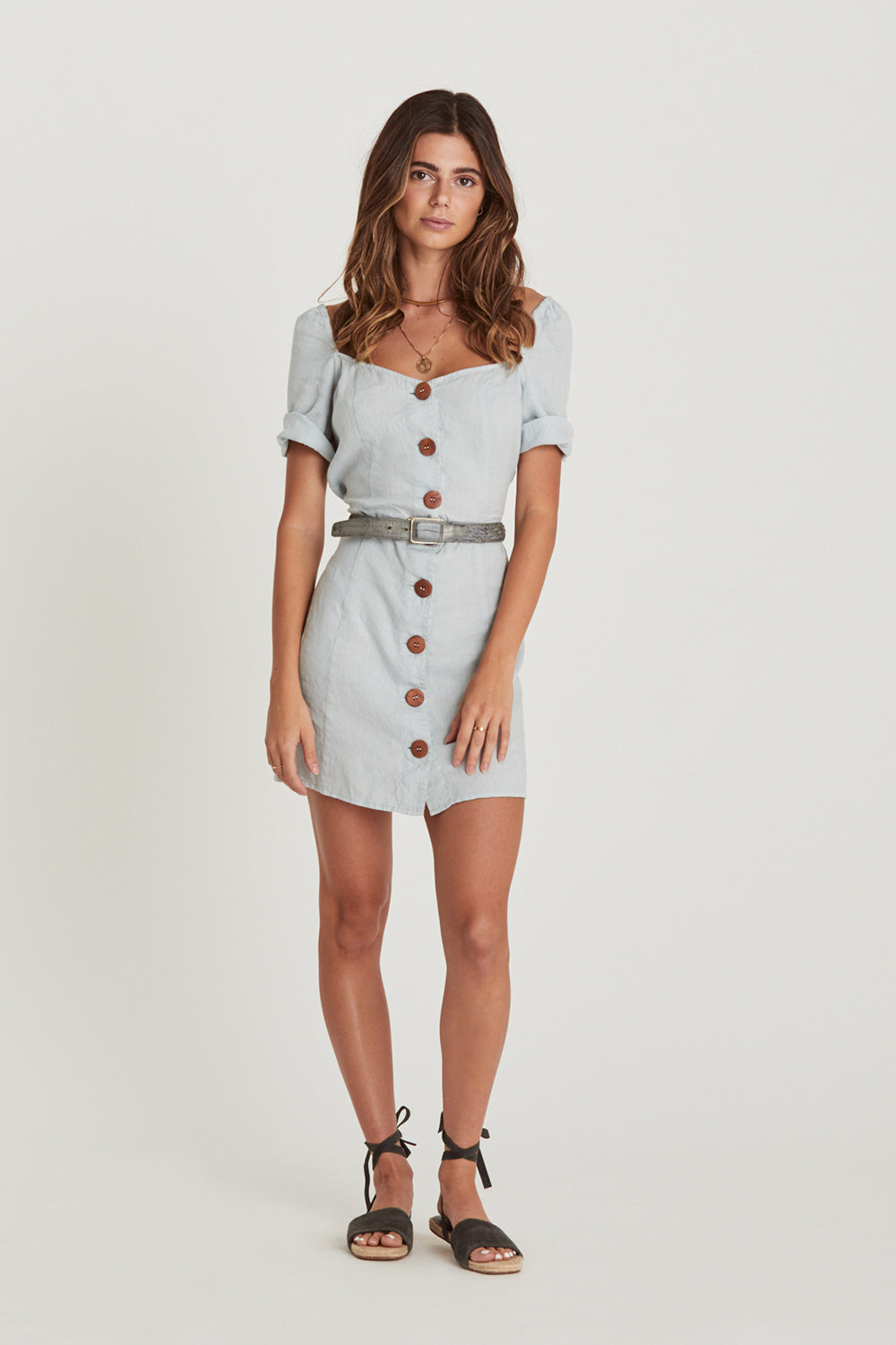 Chloe Mini Dress in Skyla