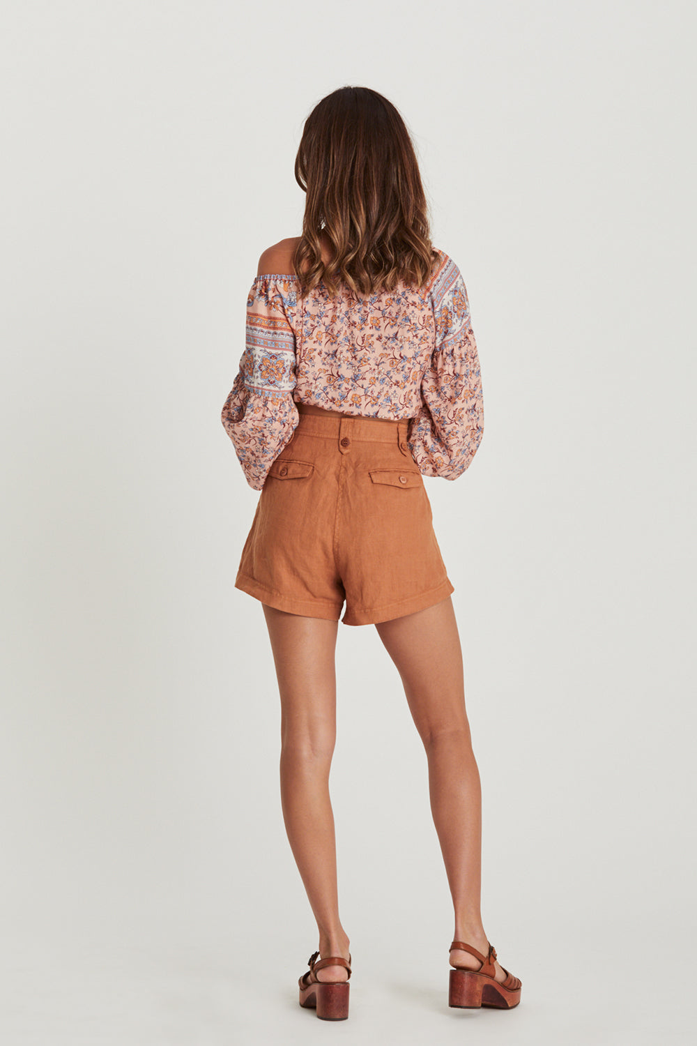 Chloe Shorts in Bronze