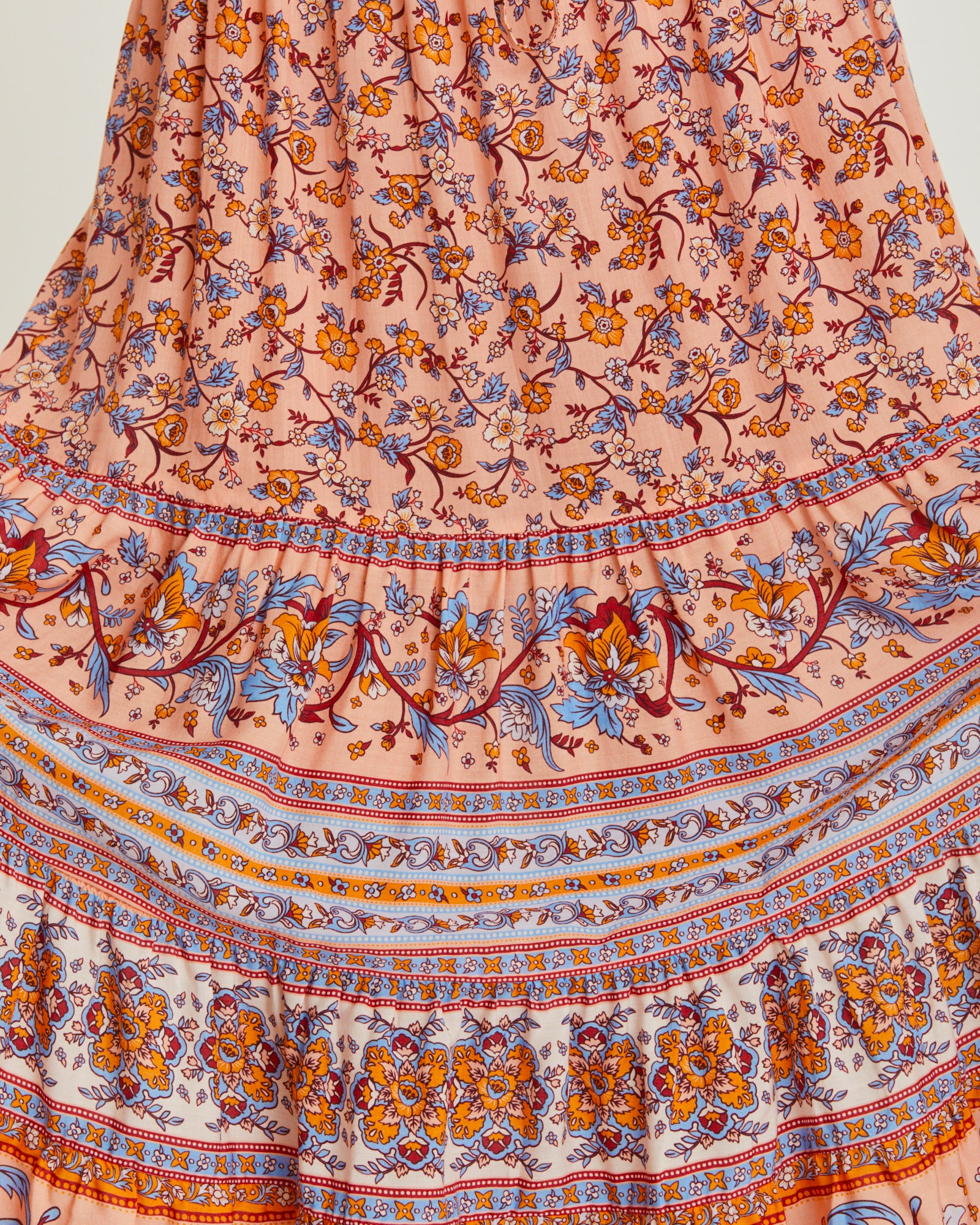 Camilla Skirt in Coral Seas