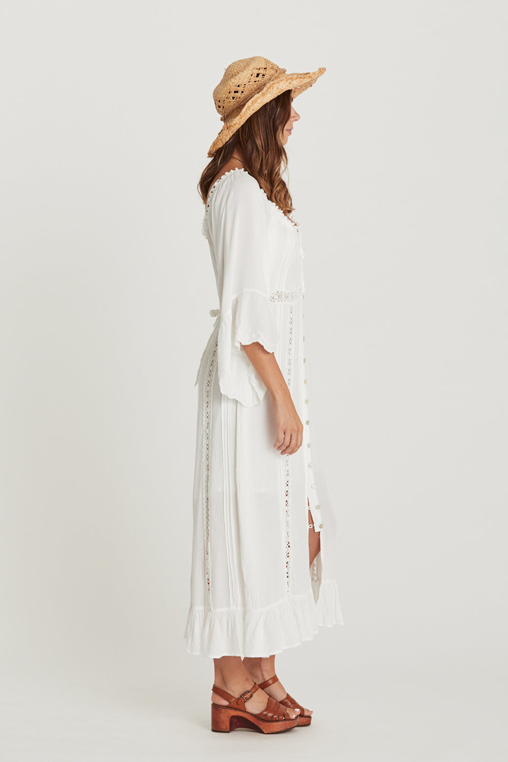 Dreamers Dress in Whisper White