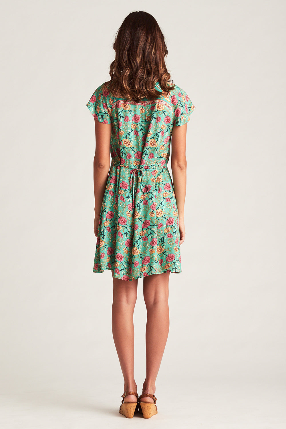 Muse Mini Dress in Verde