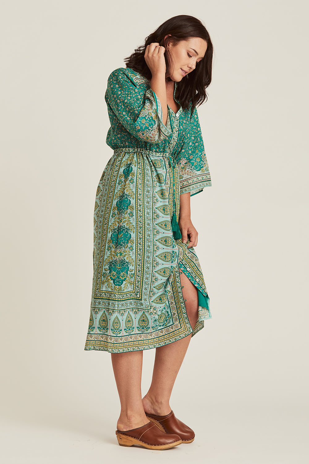 Nastassia Maxi Dress in Mint