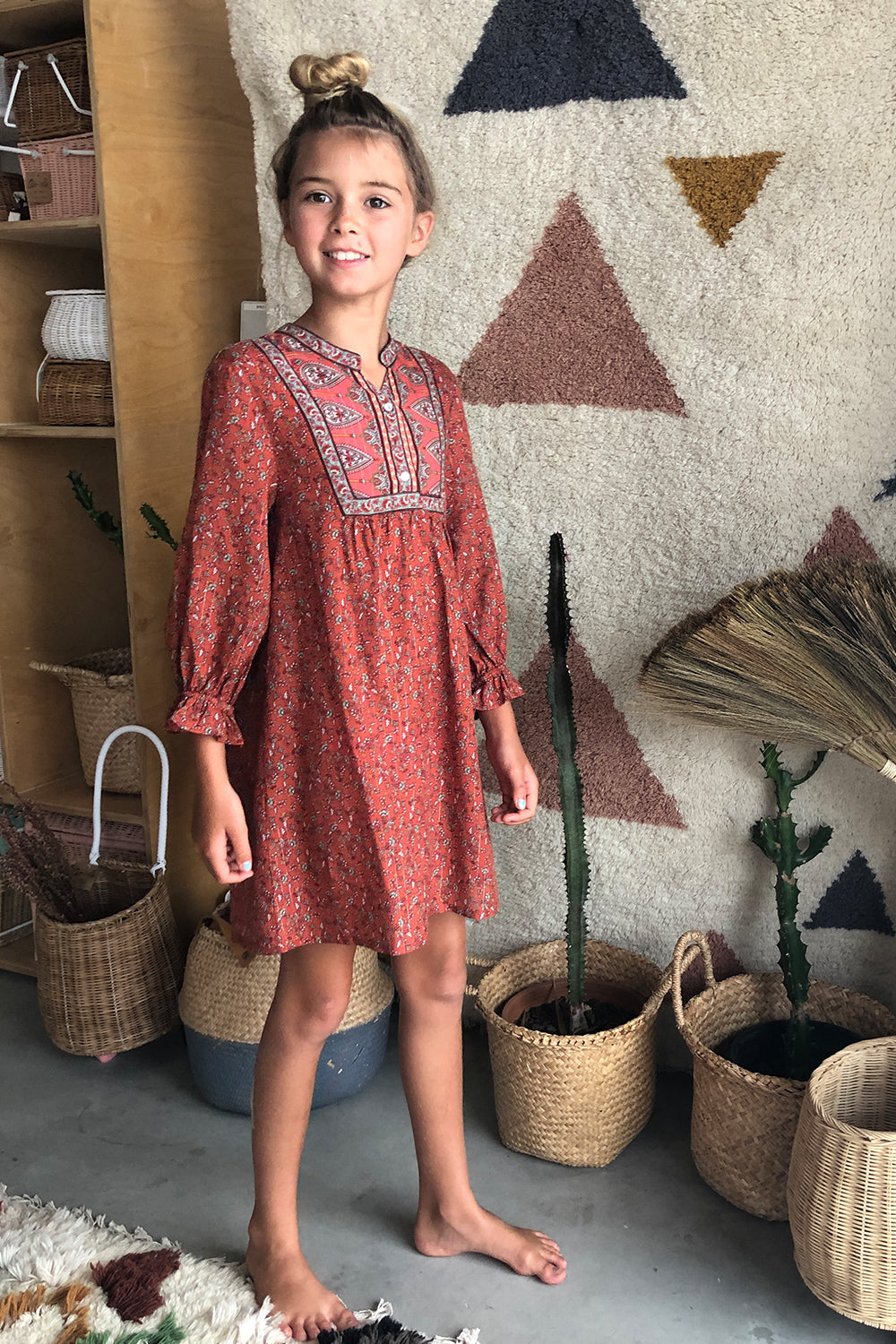 Nastassia Littles Dress in Rooibos