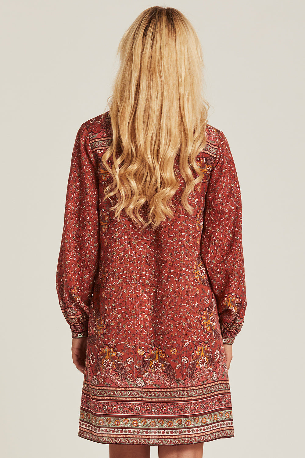 Nastassia Tunic Dress in Rooibos