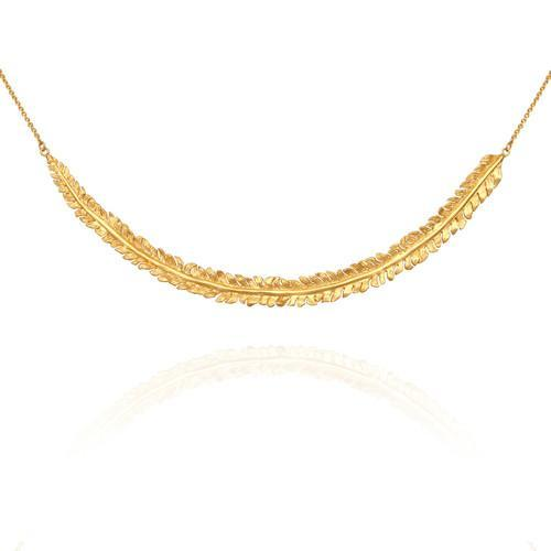 Temple of the Sun ~ Parna Necklace Gold