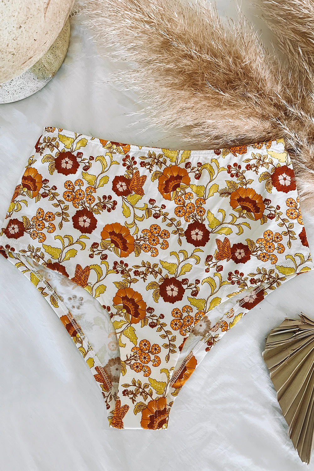 Jersey Revive High Waist Knickers in Macadamia