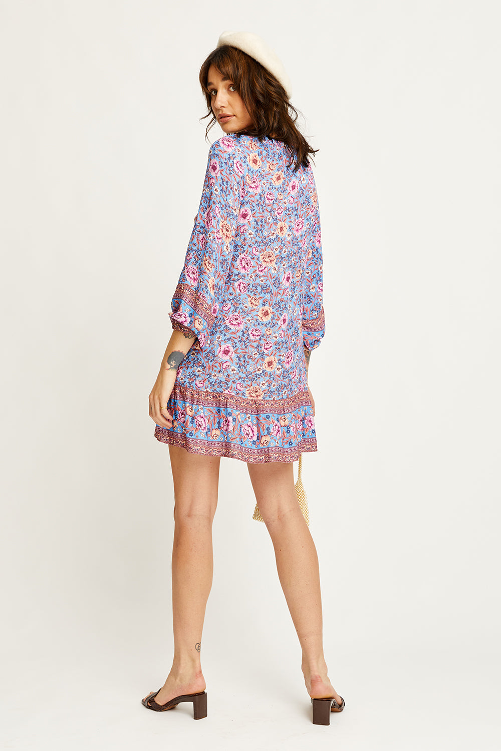 Juliette Tunic Dress in Bluebelle