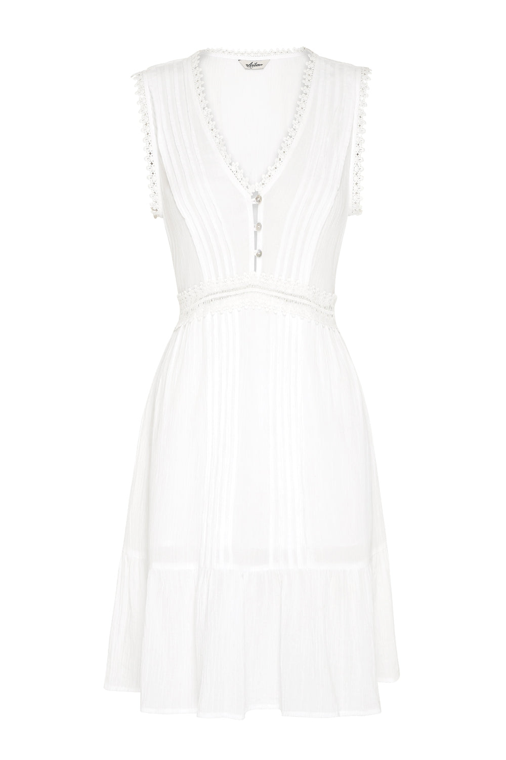 Breeze Mini Dress in Coconut