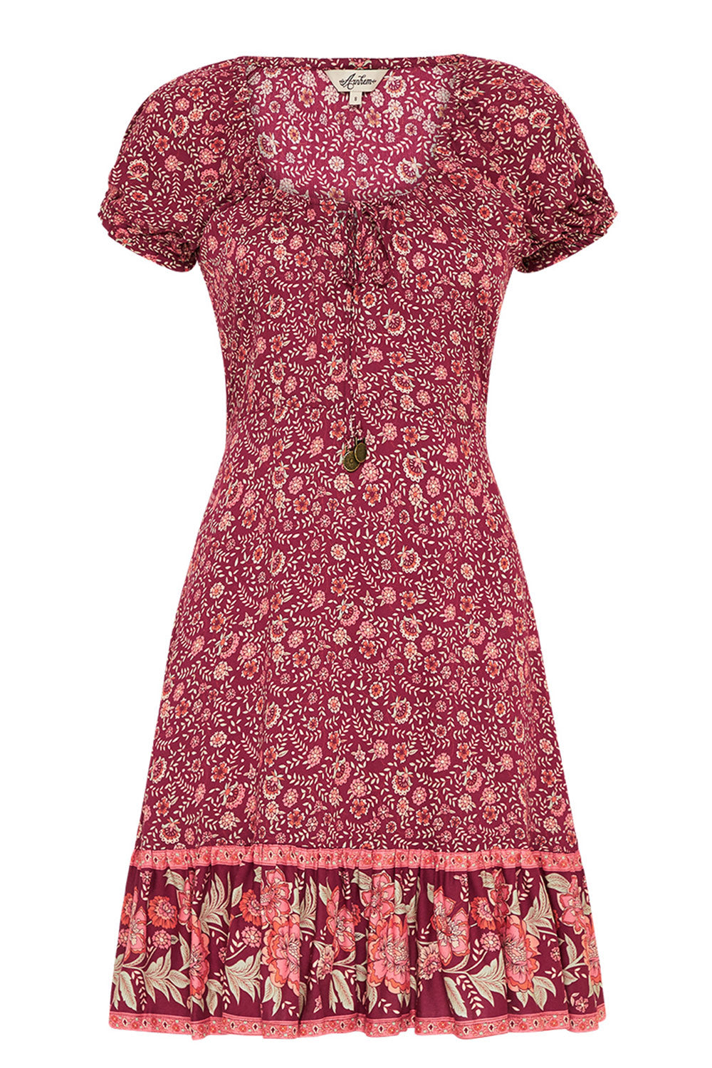 Fleetwood Mini Dress in Pomegranate