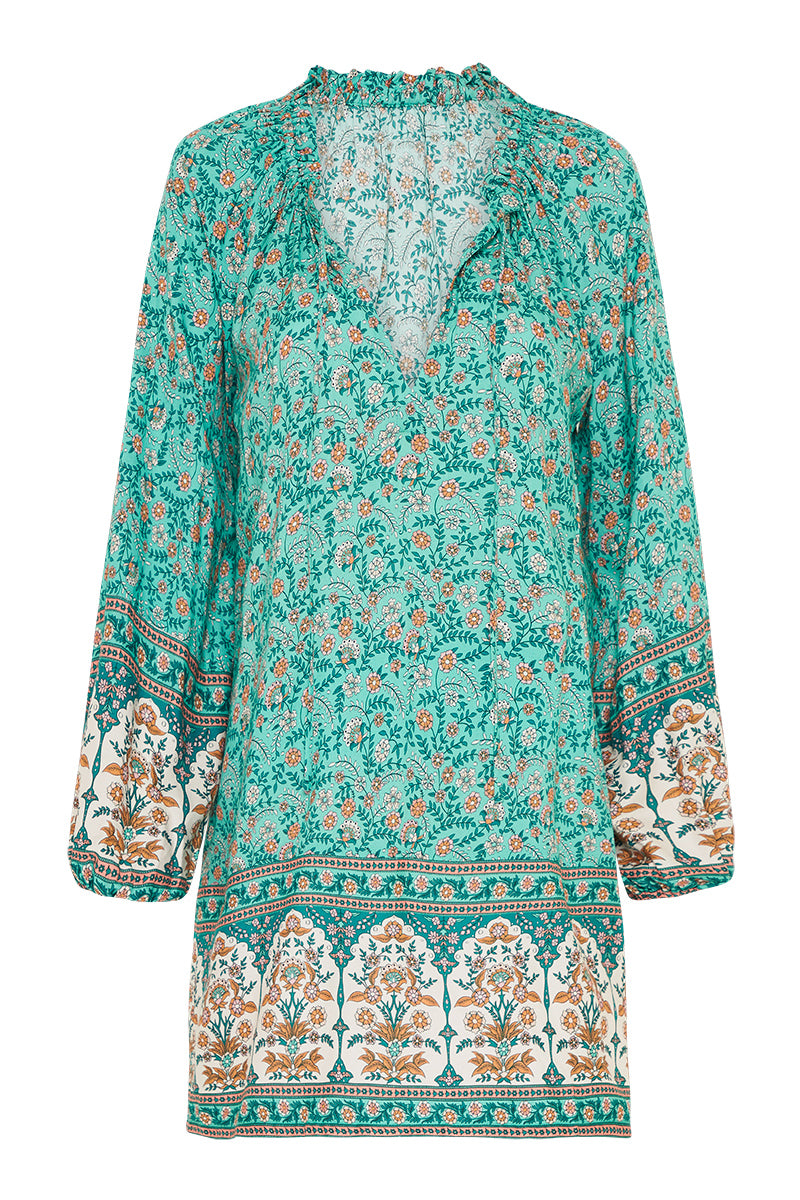 Fleetwood Kaftan in Greenfields