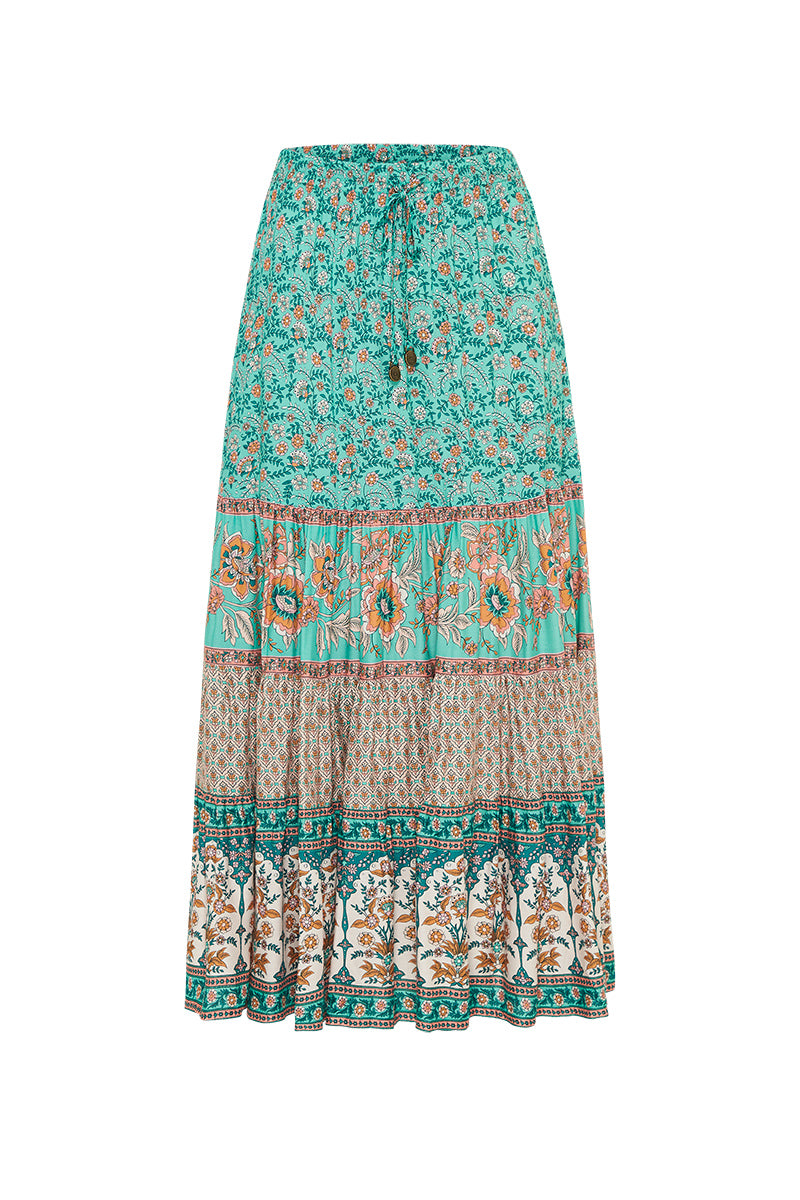 Fleetwood Skirt in Greenfields