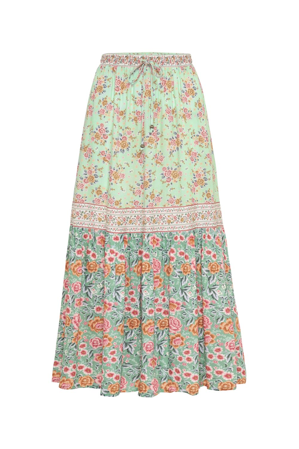 Harmony Midi Skirt in Mint