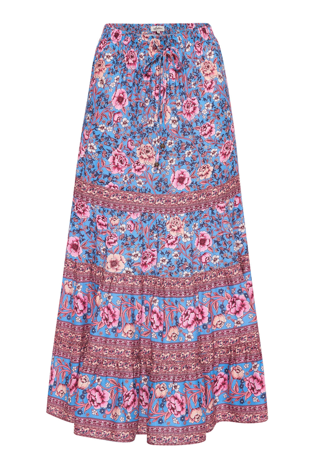 Juliette Midi Skirt in Bluebelle