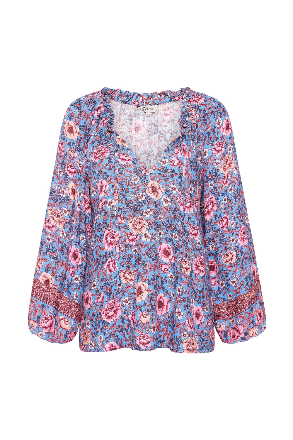 Juliette Blouse in Bluebelle