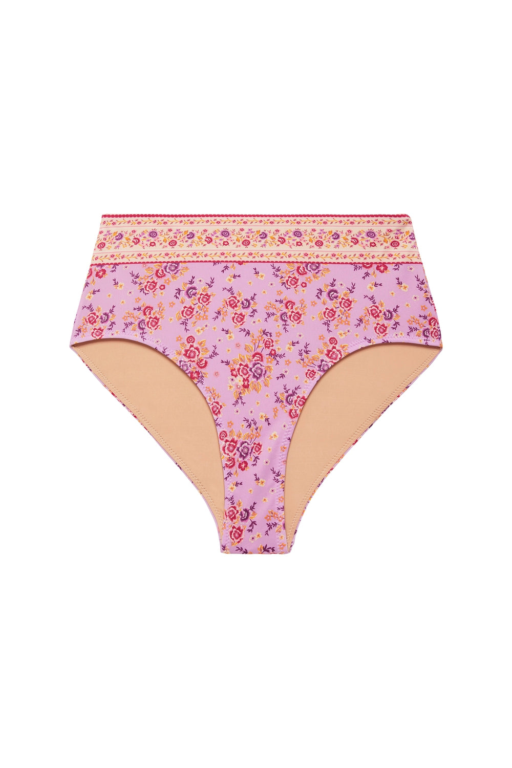 Harmony Hi Waist Bottom in Lilac