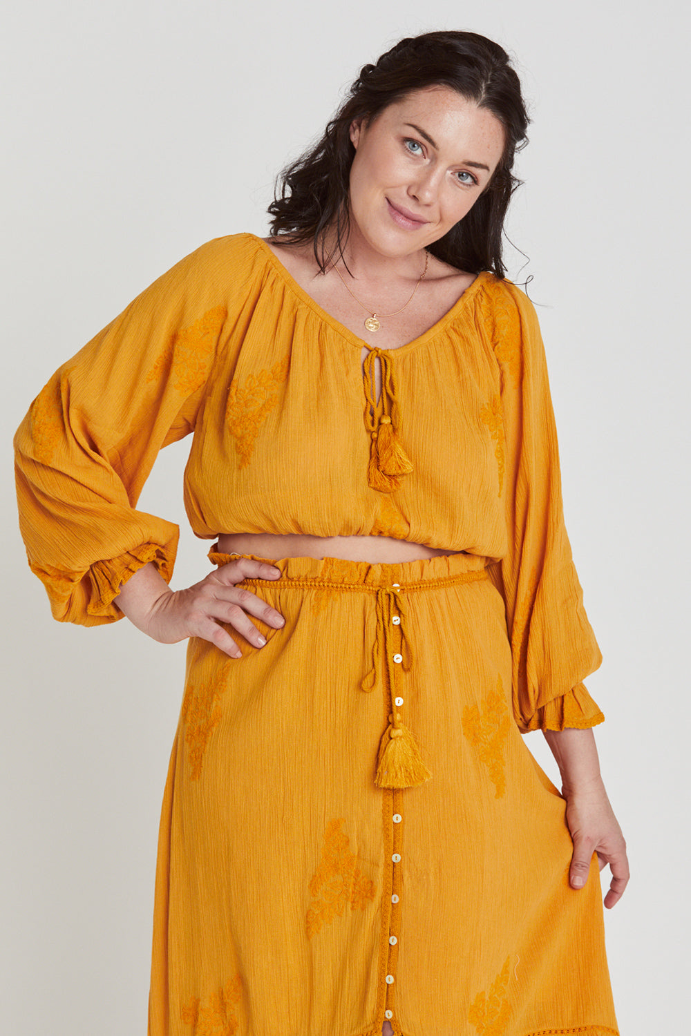 Stevie Blouse in Sunflower