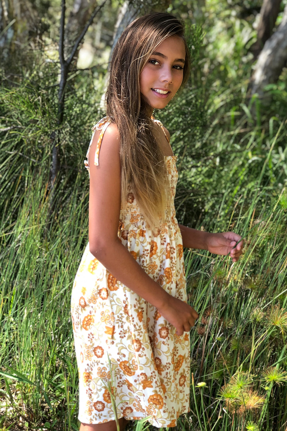 Suki Littles Dress in Macadamia