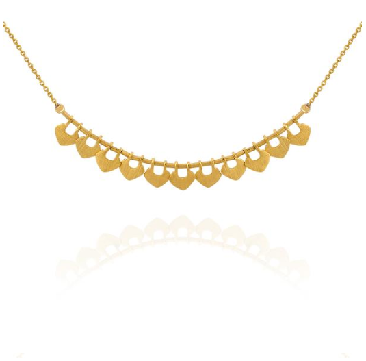 Temple of the Sun ~ Delli Necklace Gold