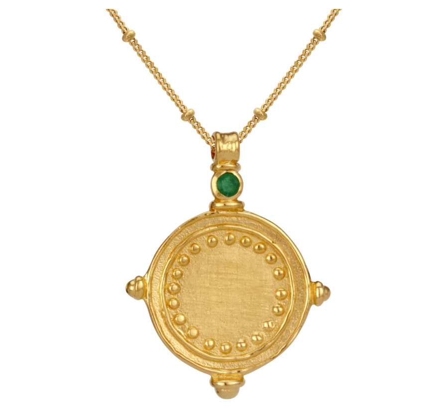 Temple of the sun ~ Sura Necklace Gold