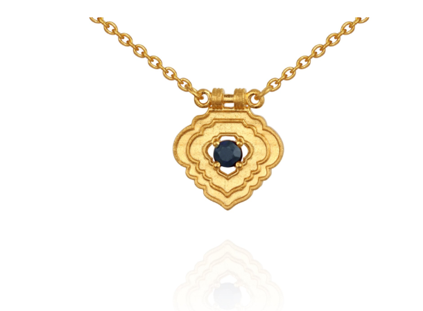 Temple of the Sun ~ Aerin Necklace Gold