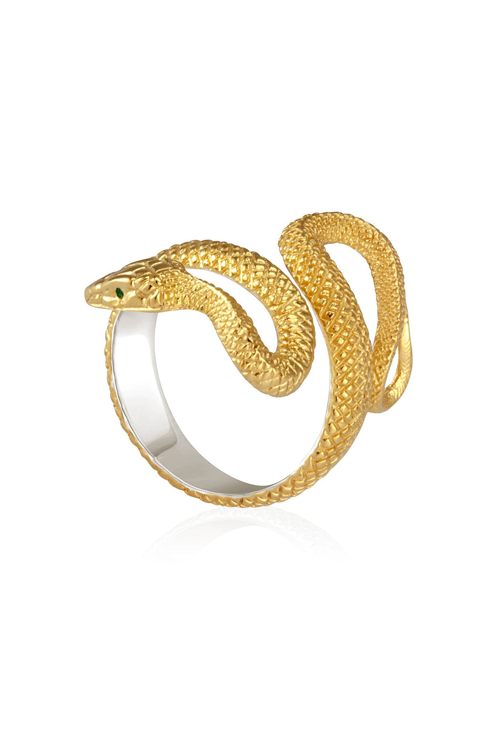 Temple of the Sun ~ Serpent Ring Gold