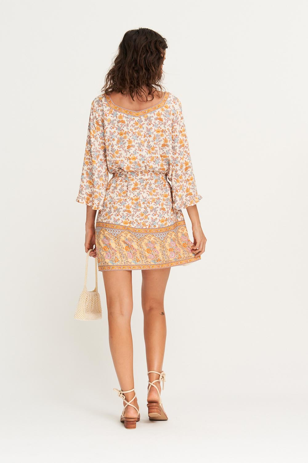 Honey Kaftan in Coconut Cream