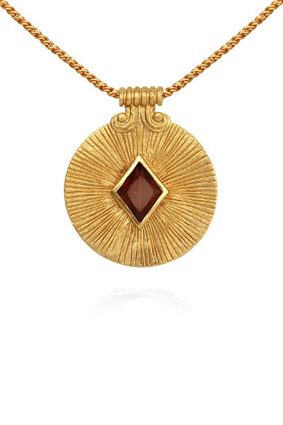 Temple of the Sun ~ Sol Necklace Gold