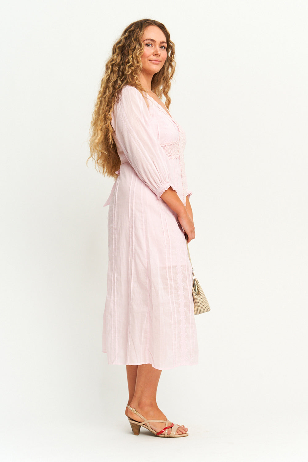Poeme Sundress in Blush