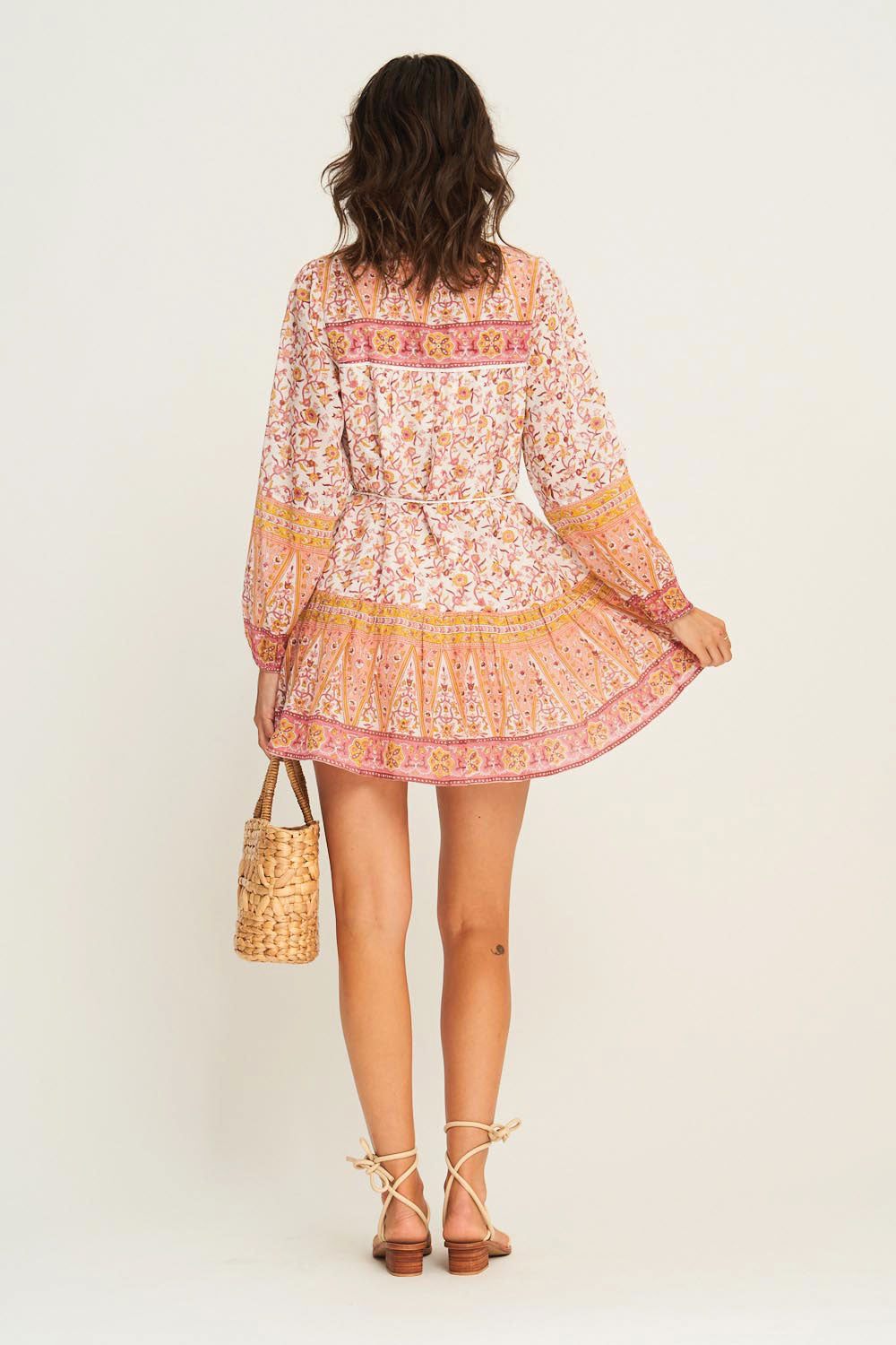 Lucia Tunic Dress in Desert Rose