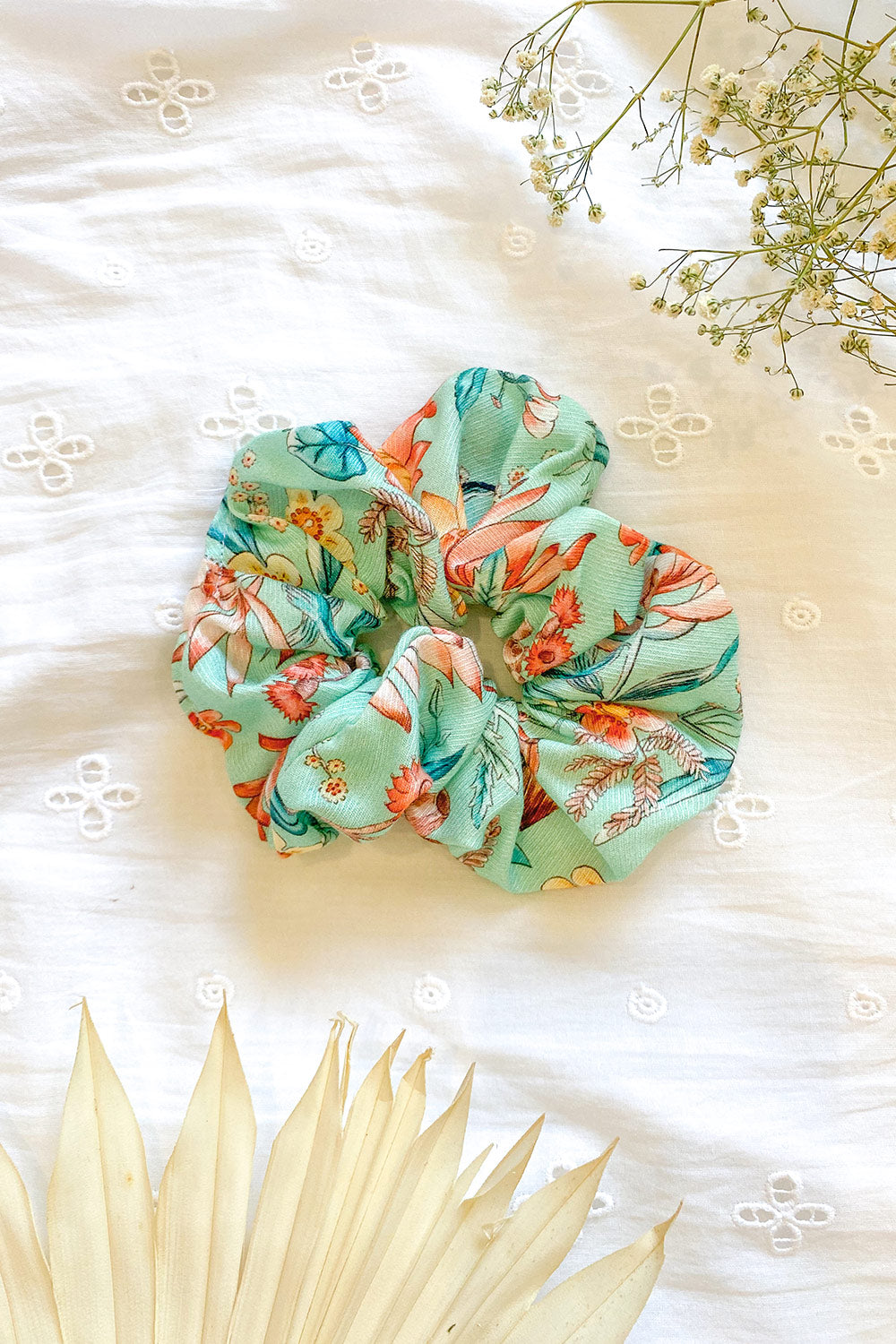 Acacia Revive Scrunchie in Opal