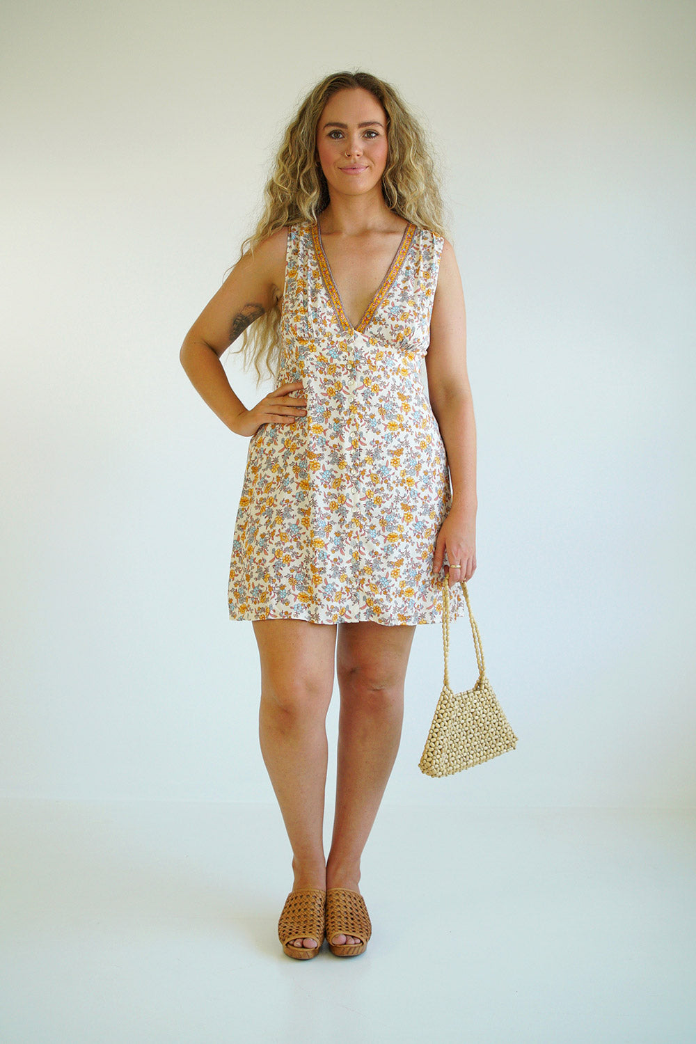 Honey Playdress in Coconut Cream