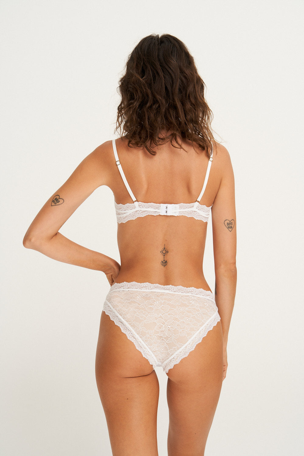 Faith Knickers in White
