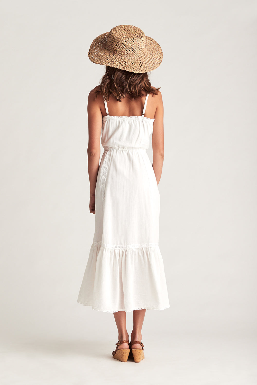 Valentina Sundress in Moonstone