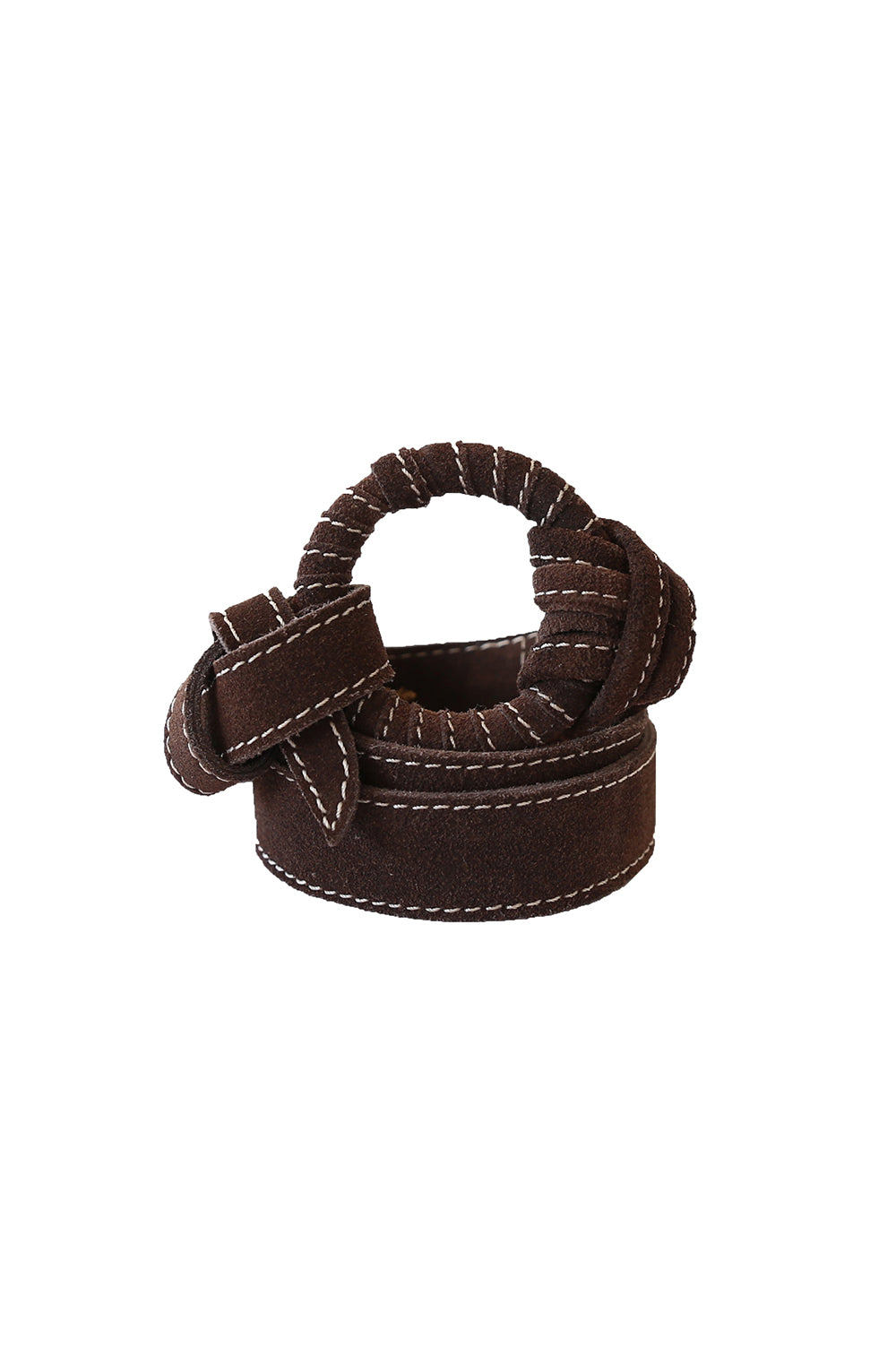 Davis Suede Leather Belt