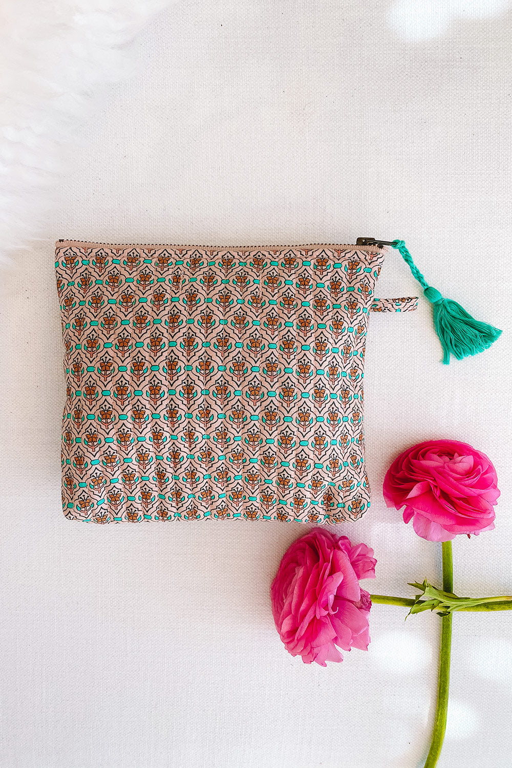 Fleetwood Revive Pouch in Tile Blush