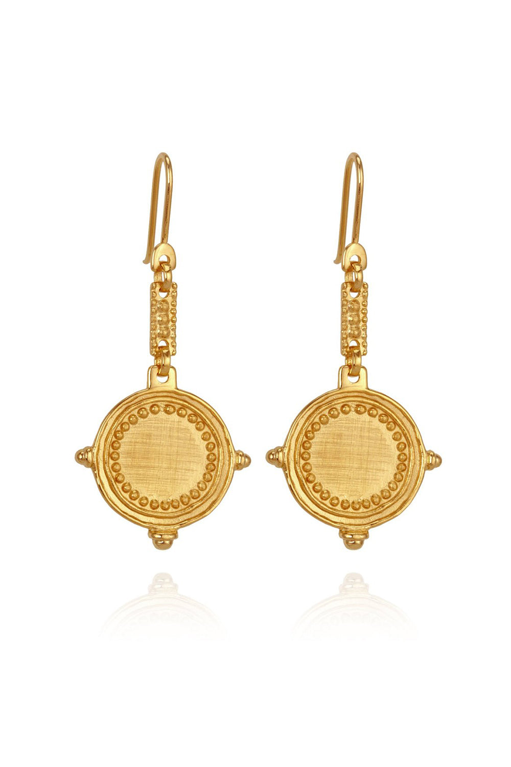 Temple of the Sun ~ Celia Earrings Gold