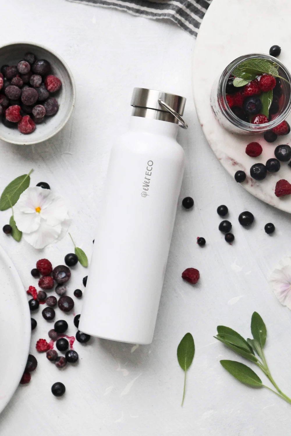 Ever eco Insulated Drink Bottles - Cloud