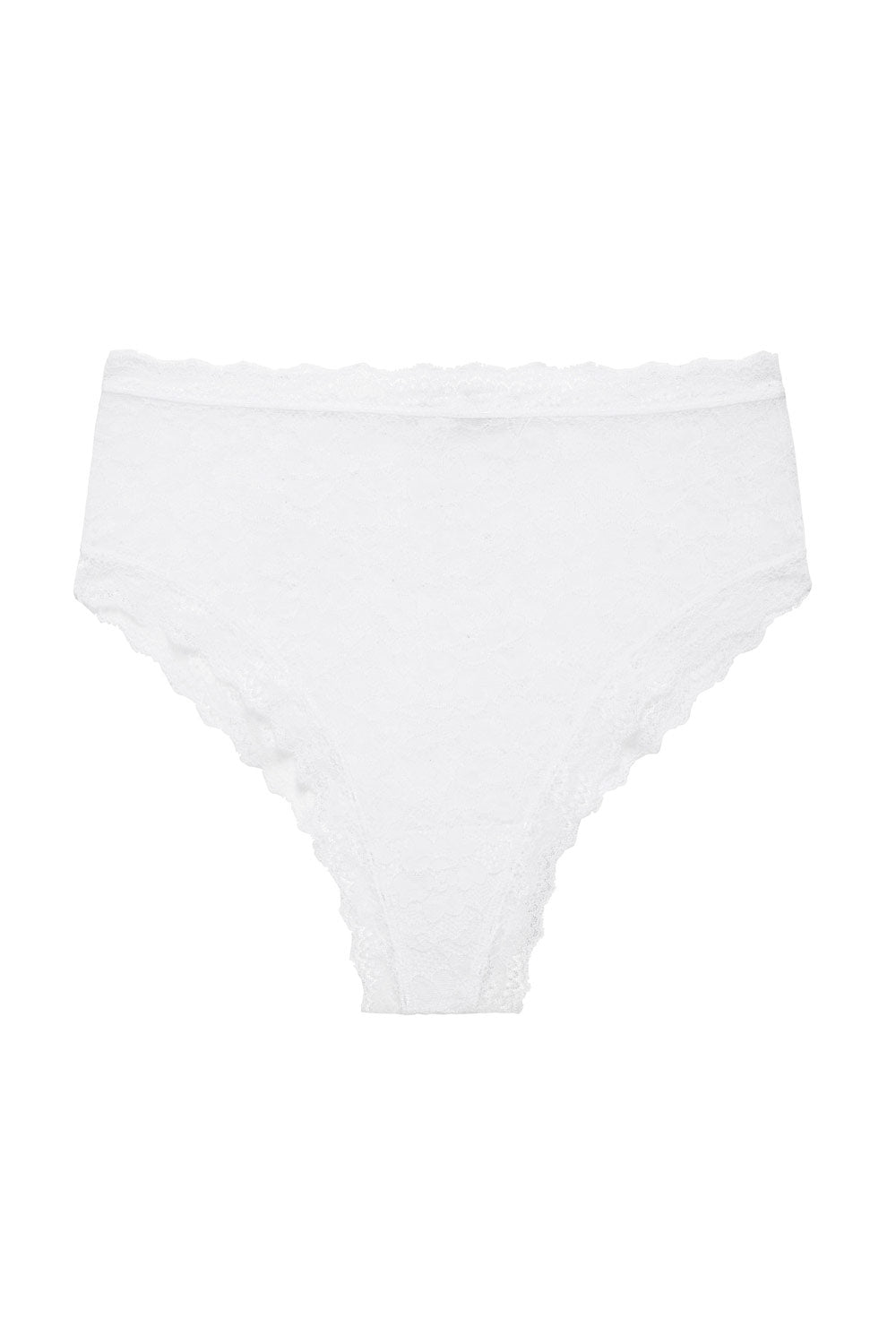 Faith Hi Waist Knickers in White