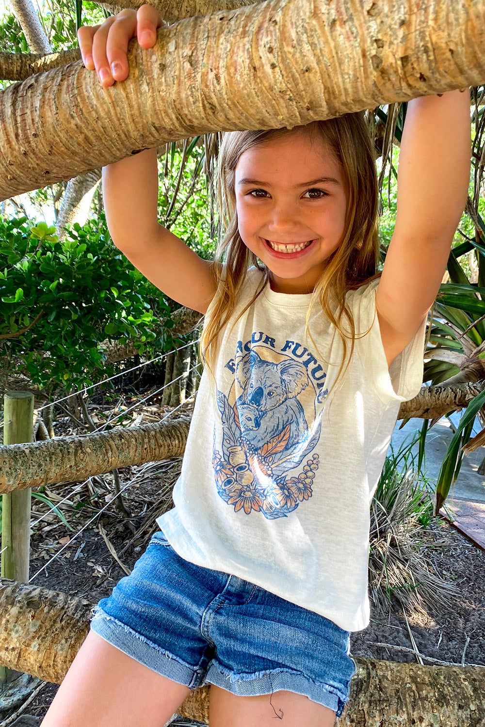 Koala Littles Charity Tee in Natural