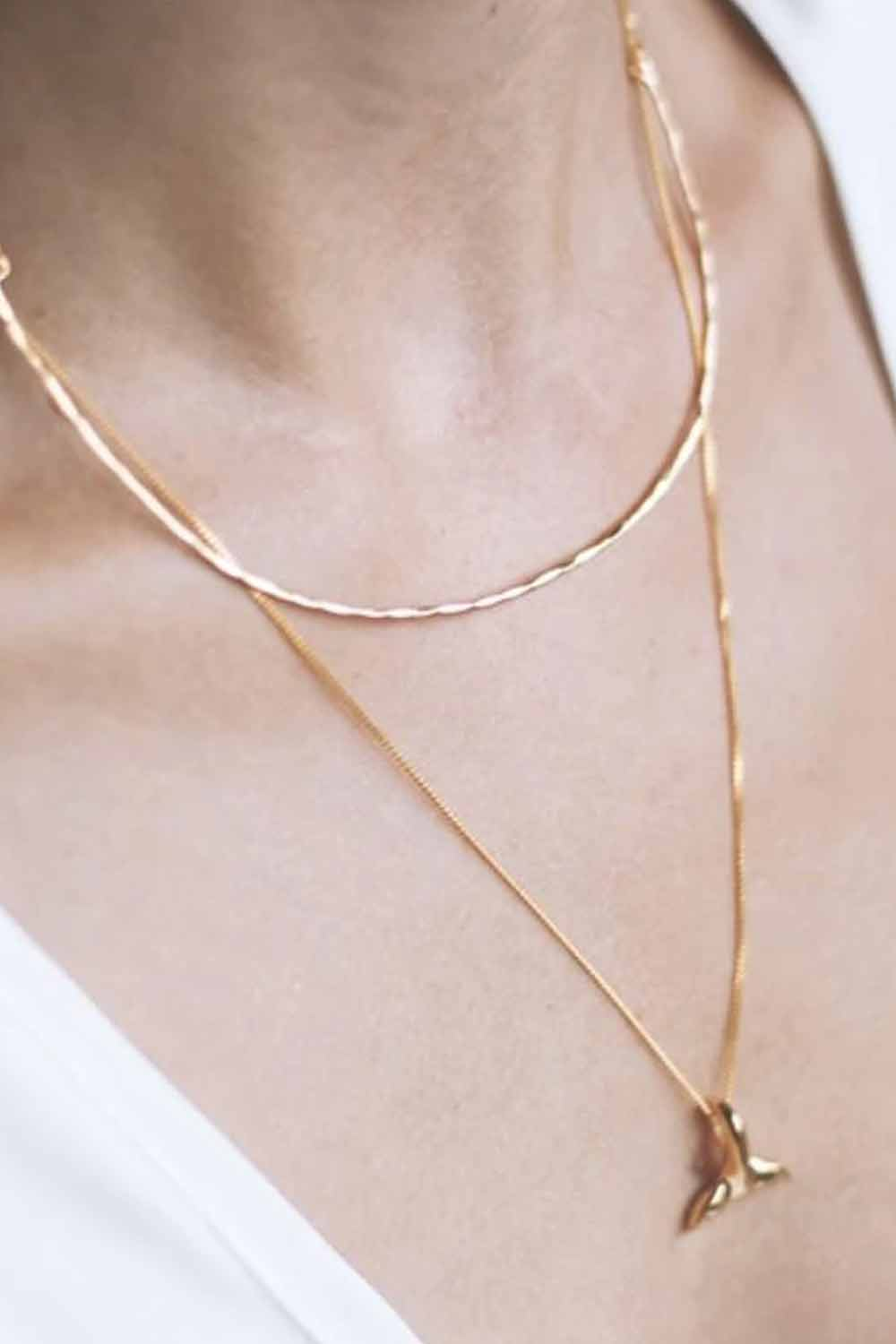 Bonito Jewelry ~ Melbourne Necklace Choker in Gold