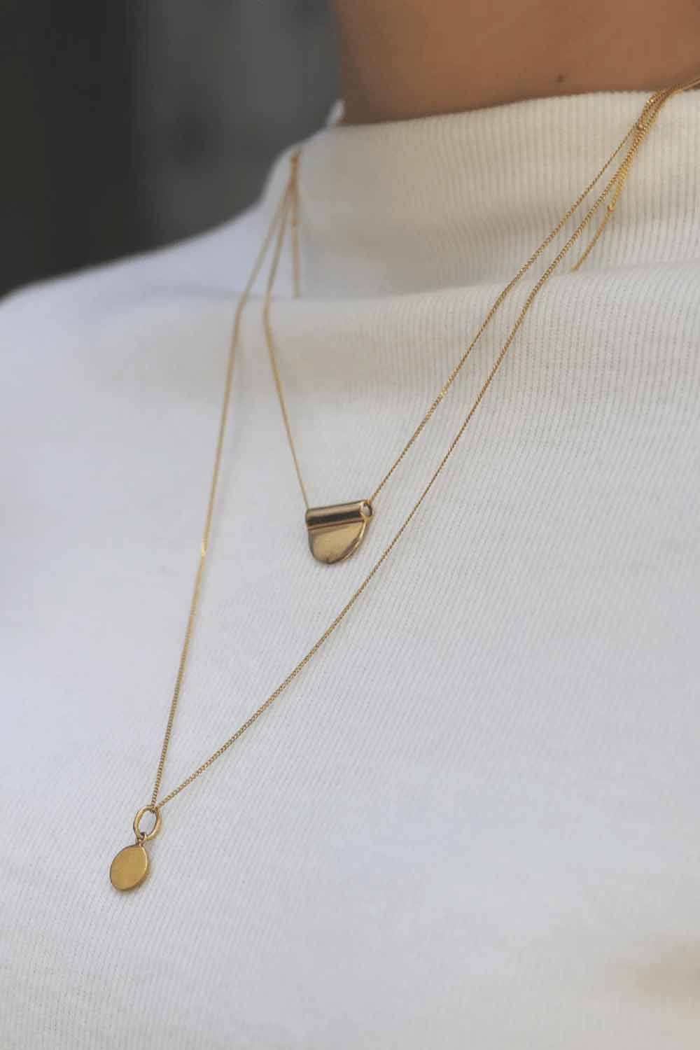Bonito Jewelry ~ Milan Layering Necklace in Gold