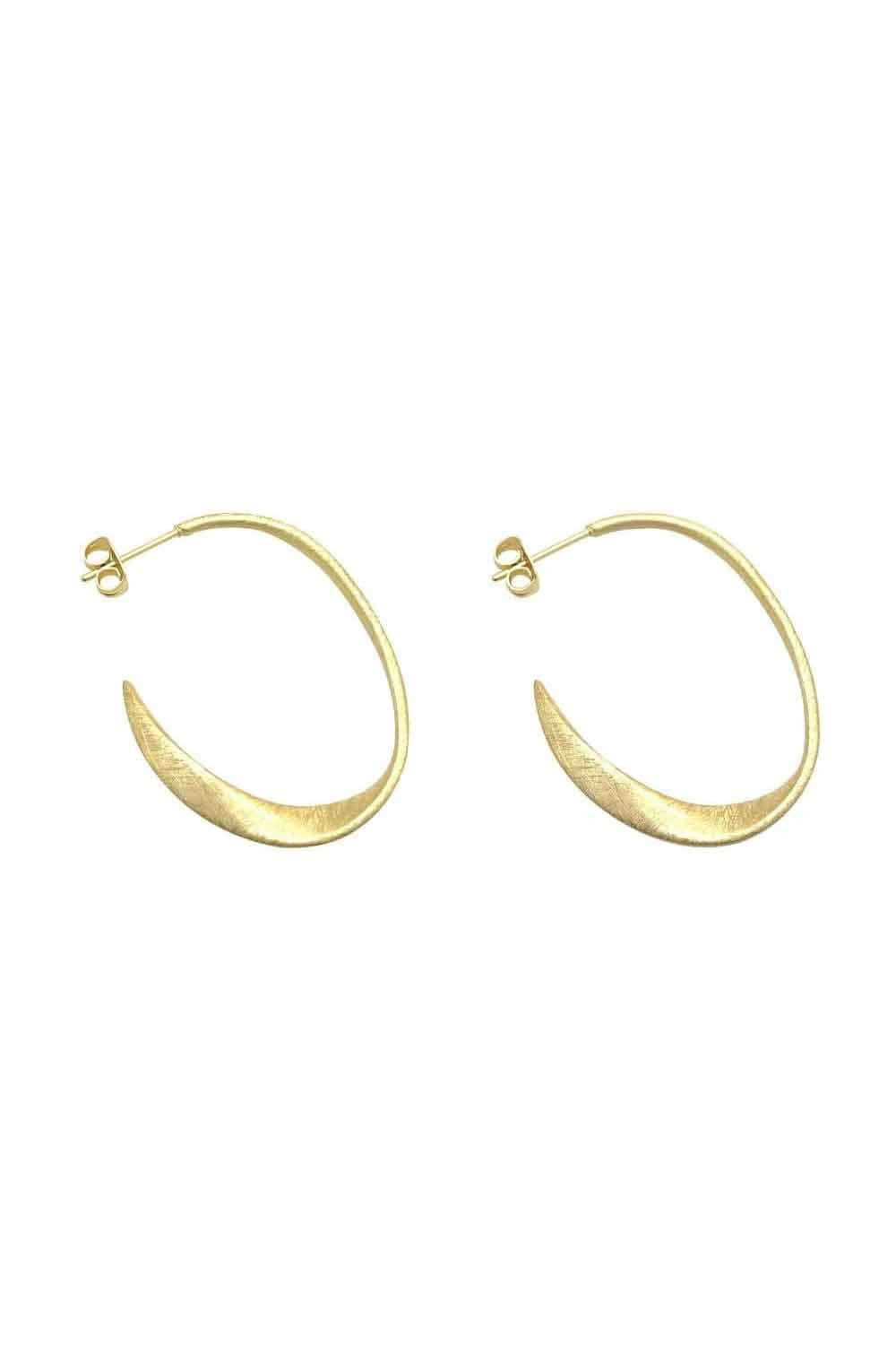 Bonito Jewelry ~ Miro Hoops in Gold