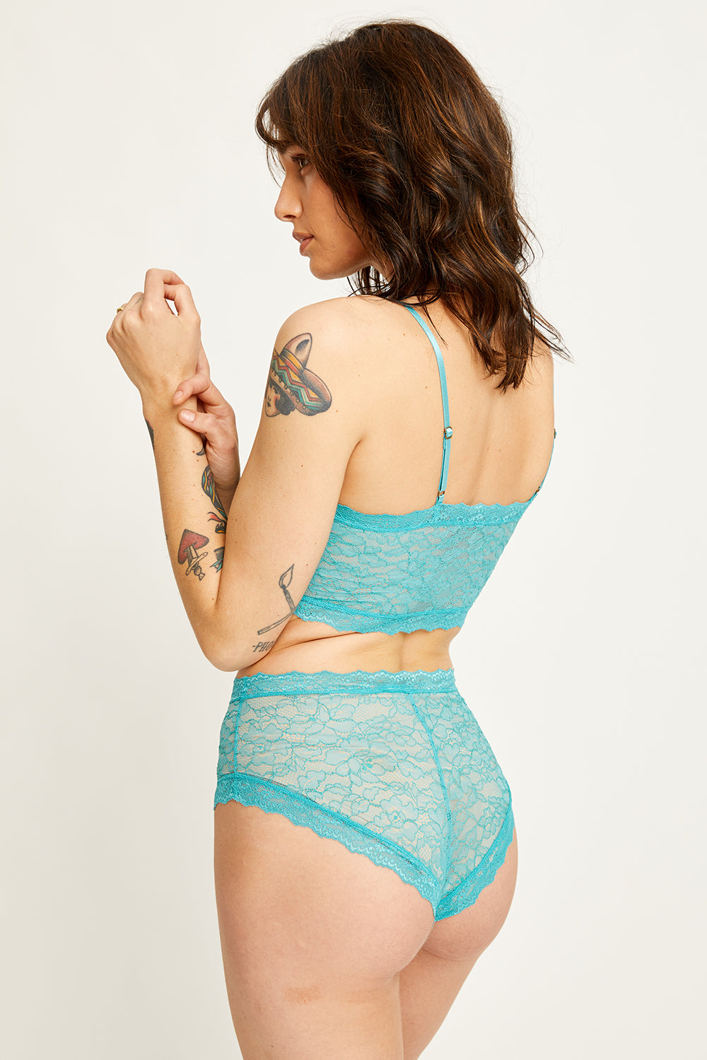 Faith Bandeau in Teal