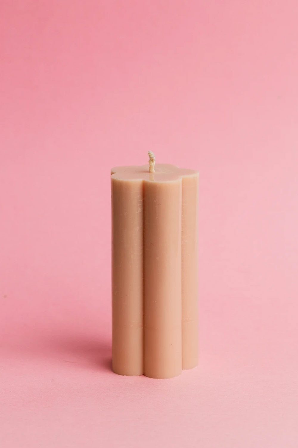 Poppy Candle - Nude