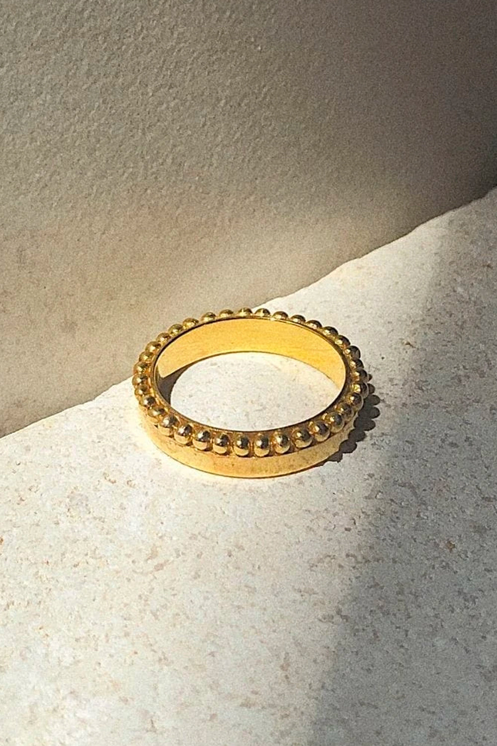 Bonito Jewelry ~ Saturn Ring Gold