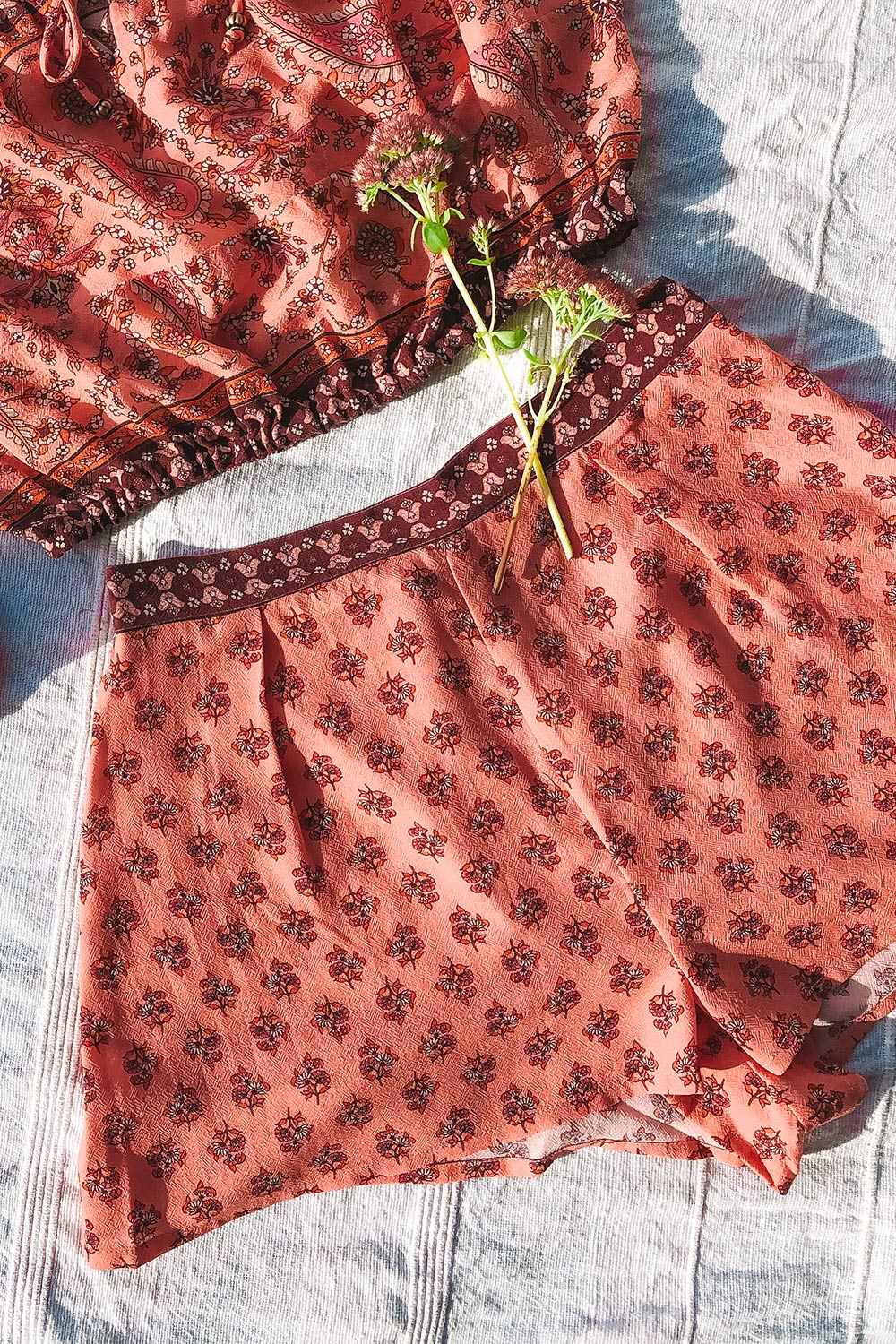 Serafina Revive Shorts in Sweet Cherry