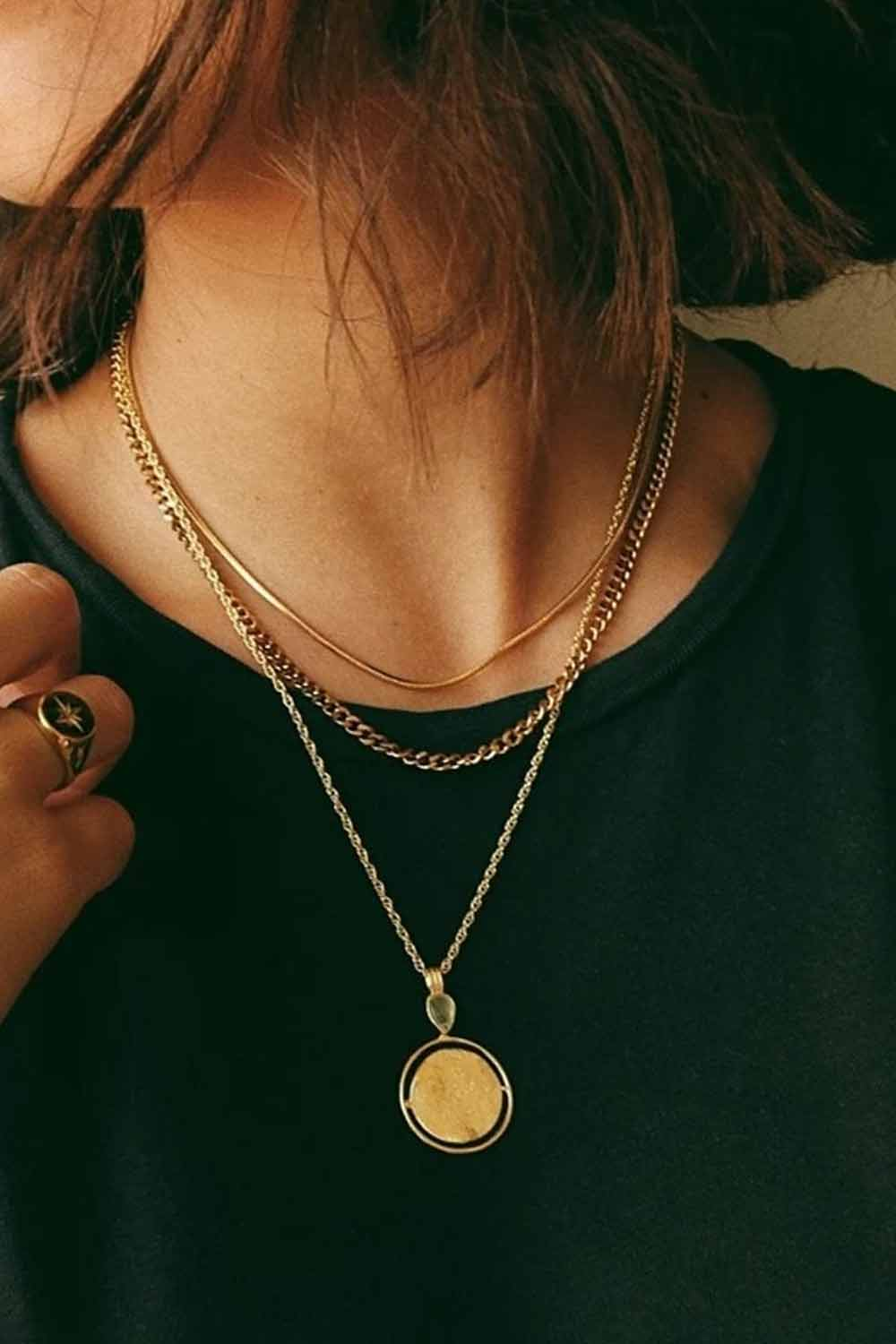 Bonito Jewelry ~ Snake Chain in Gold