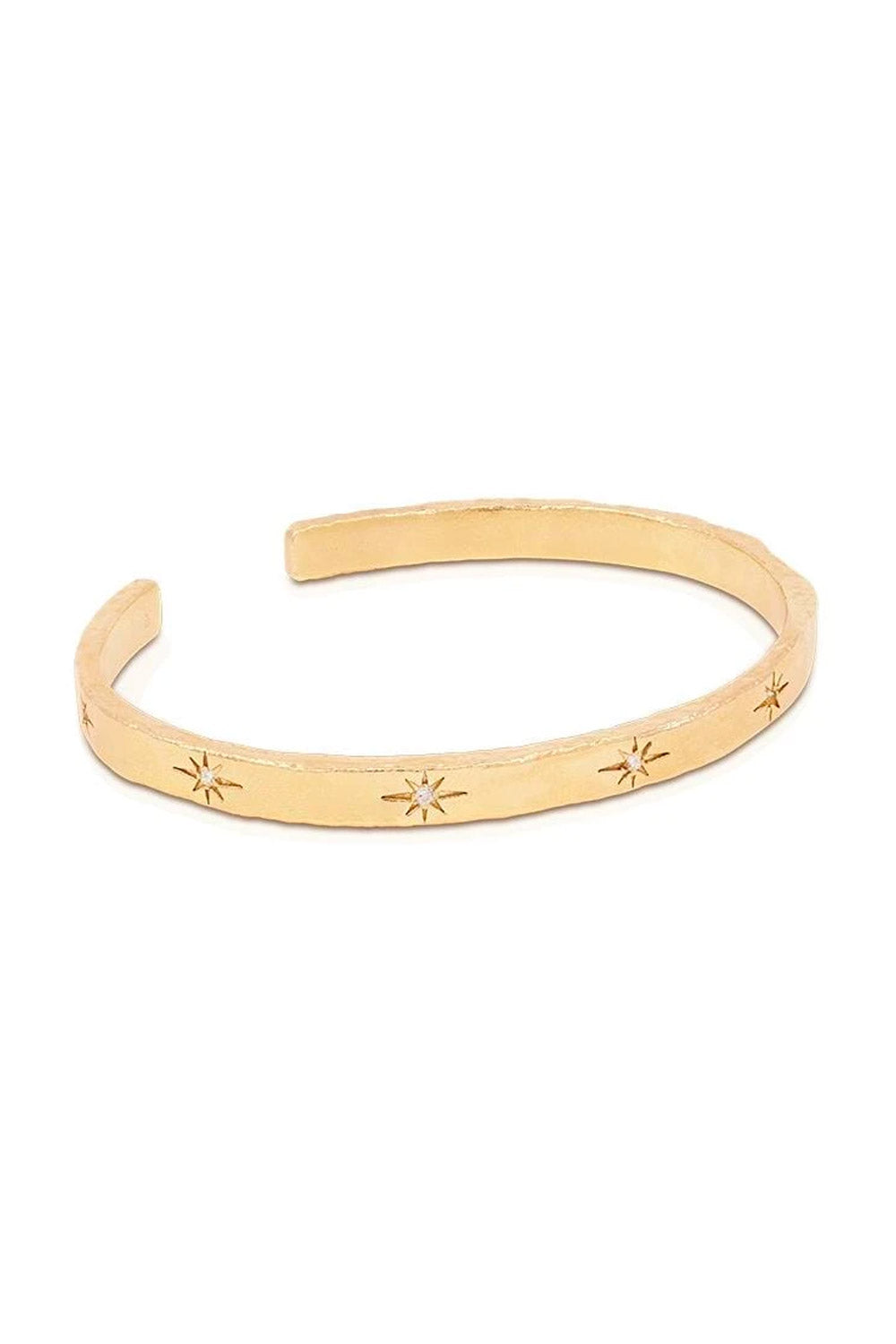 By Charlotte ~ Stardust Cuff in Gold